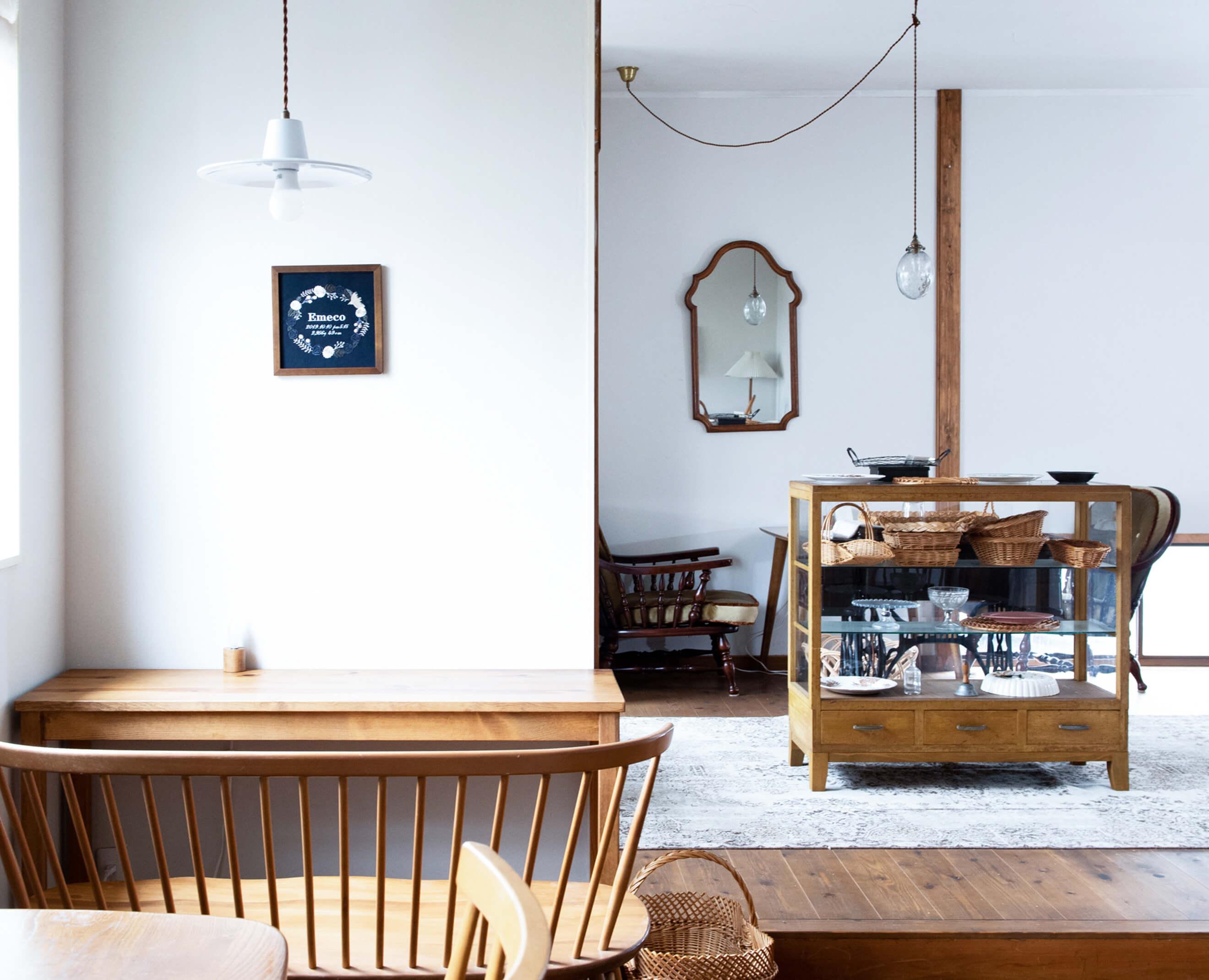 刺繍屋emecoのインテリアに馴染むオリジナルオーダー刺繍